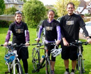 WOMA cyclists